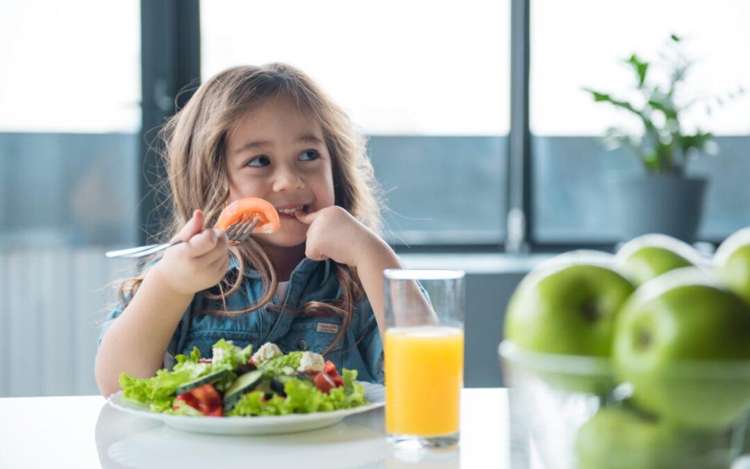Alimentația sănătoasă la copii