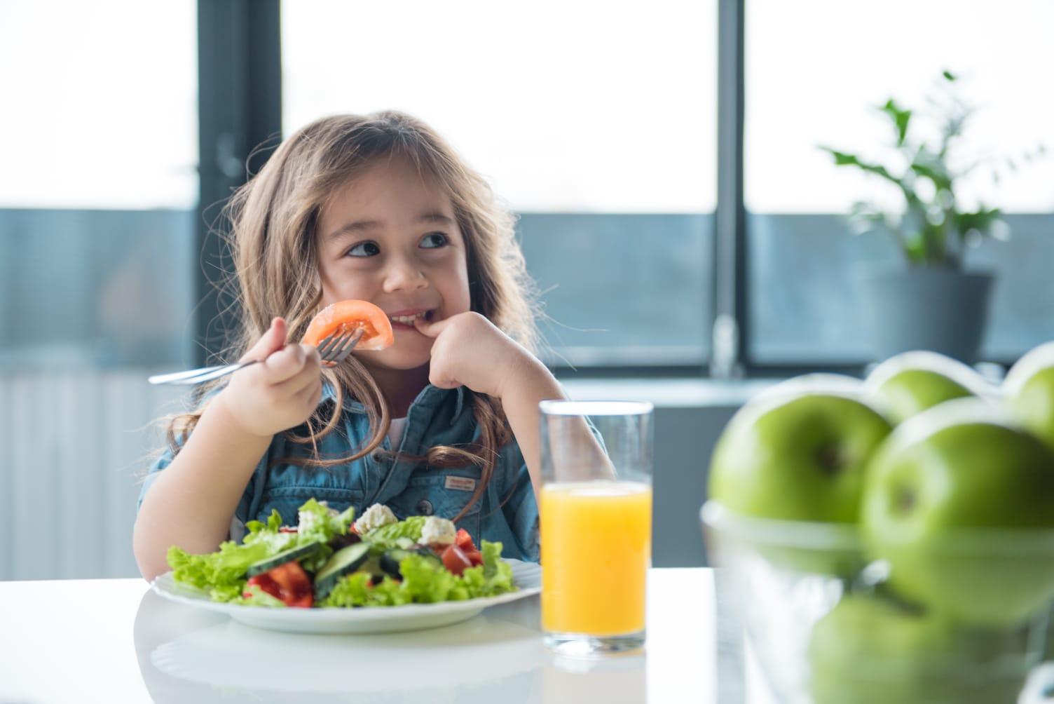 Alimentație sănătoasă la copii