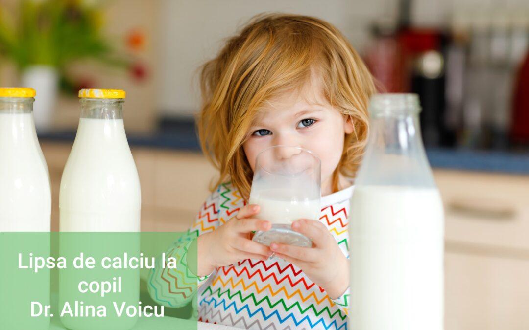 Dr. Alina Voicu-Cum Afectează Creșterea Lipsa De Calciu La Copil